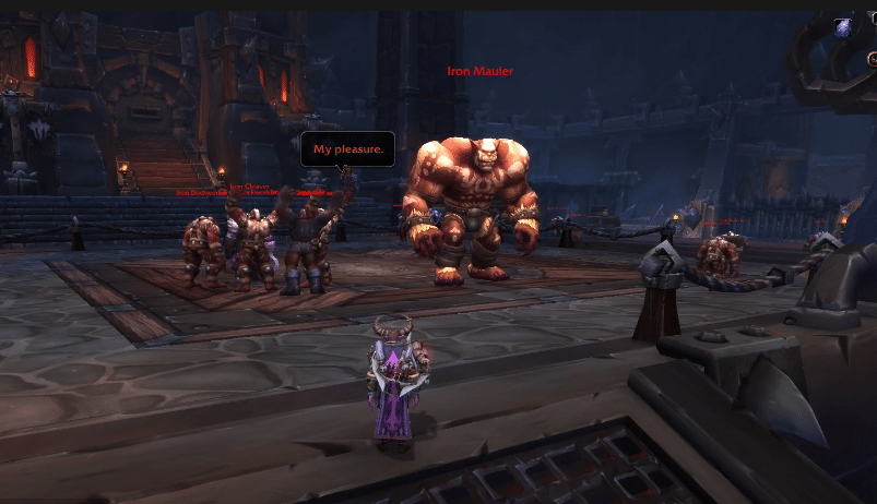 iron maidens not spawning WoW