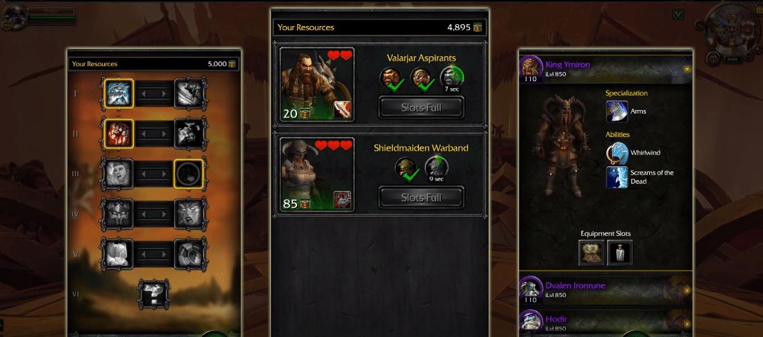 legion companion app not connecting WoW