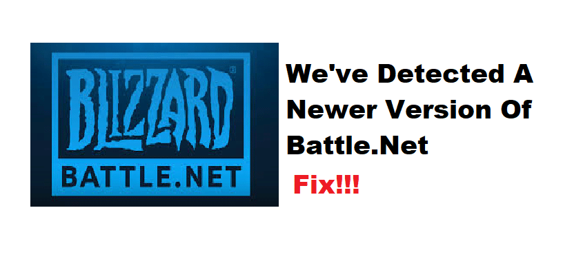 we've detected a newer version of battle.net WoW