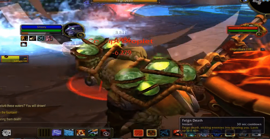 wise mari not spawning adds WoW