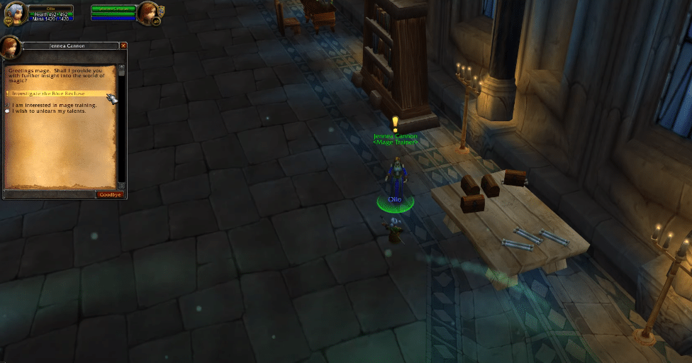 wow classic investigate the blue recluse not working