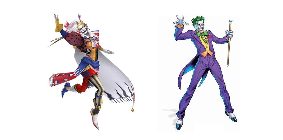 kefka vs joker minecraft