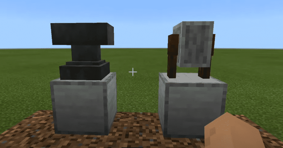 Minecraft Grindstone and Anvil Usage