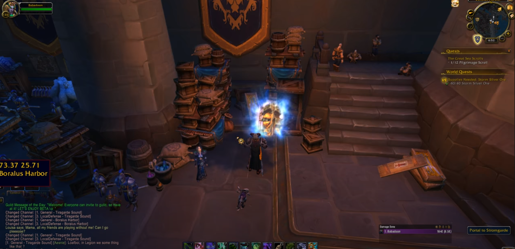 portal to stromgarde not working WoW