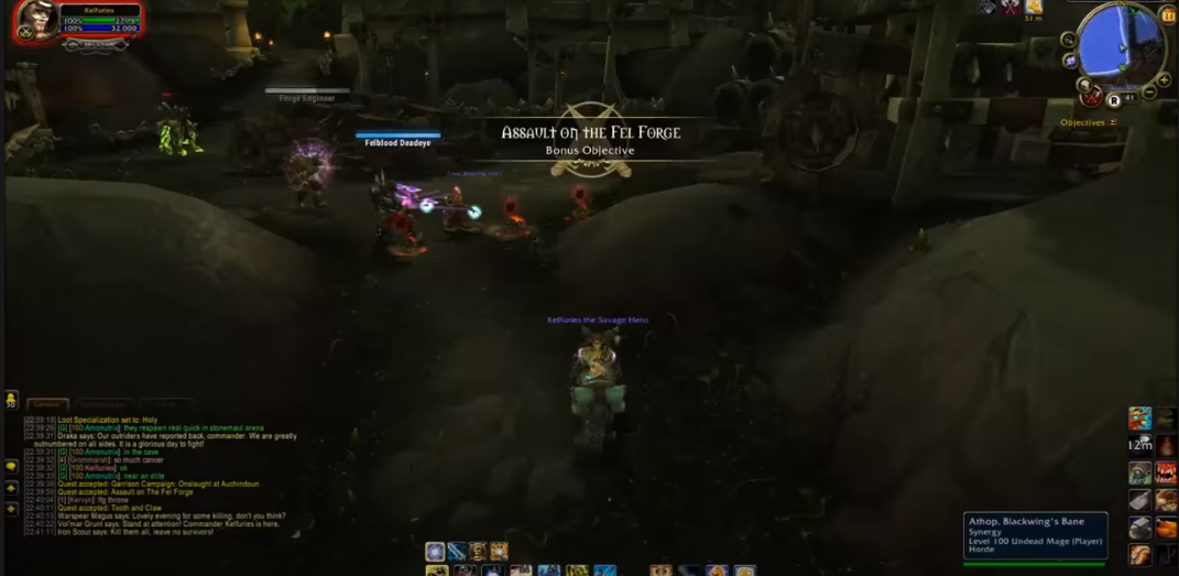 tanaan jungle bonus objectives not showing WoW