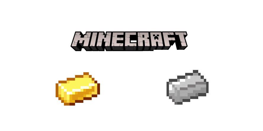 gold vs iron minecraft