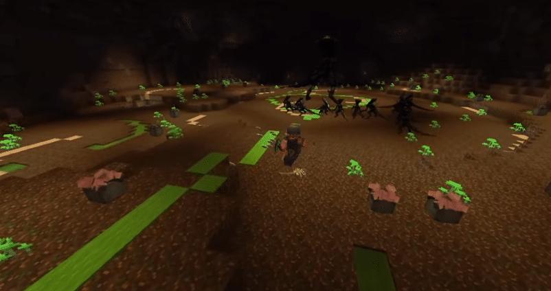 minecraft alien vs predator map