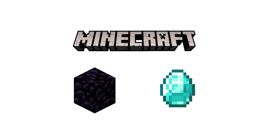 obsidian vs diamond minecraft