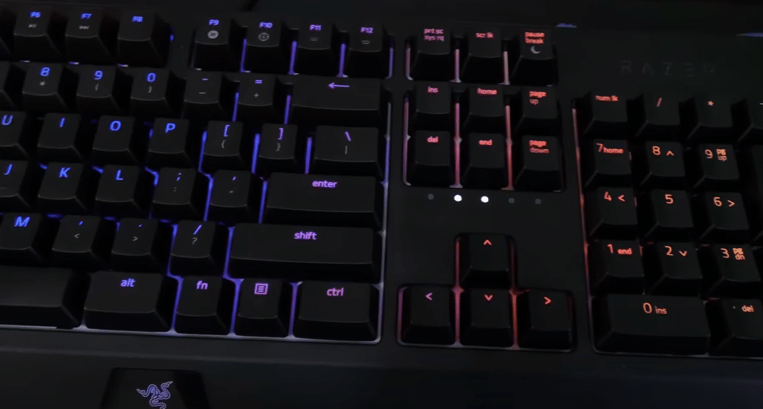 razer blackwidow keys repeating