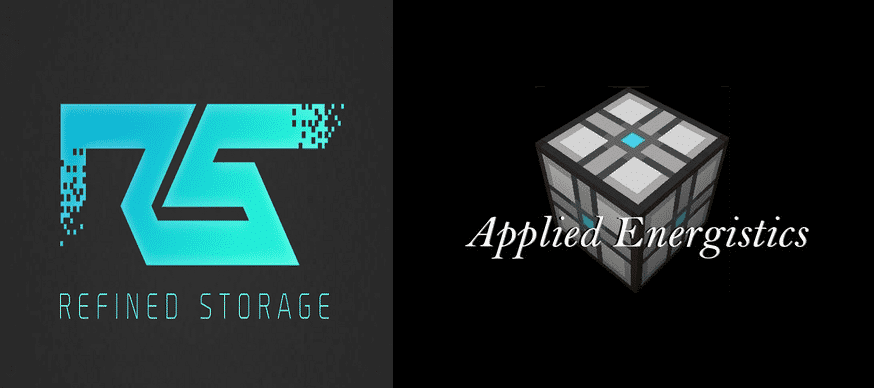 refined storage vs applied energistics 2