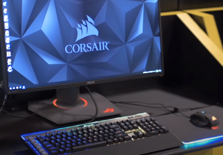 corsair composite virtual input device