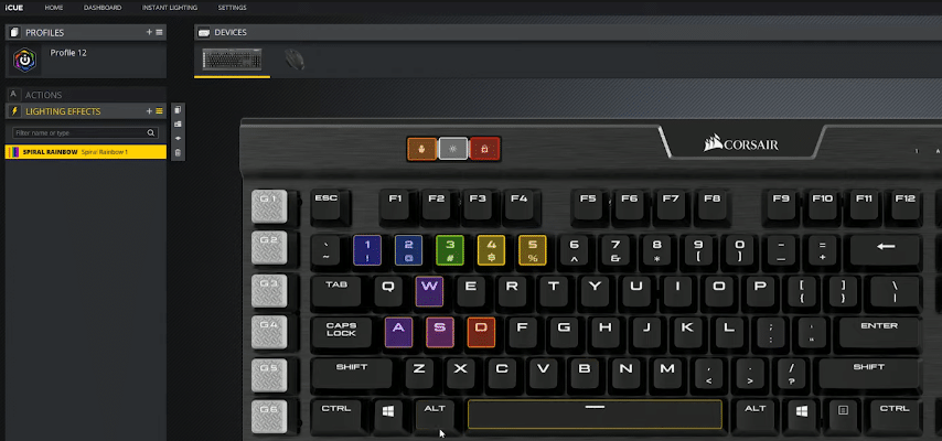 icue not detecting keyboard