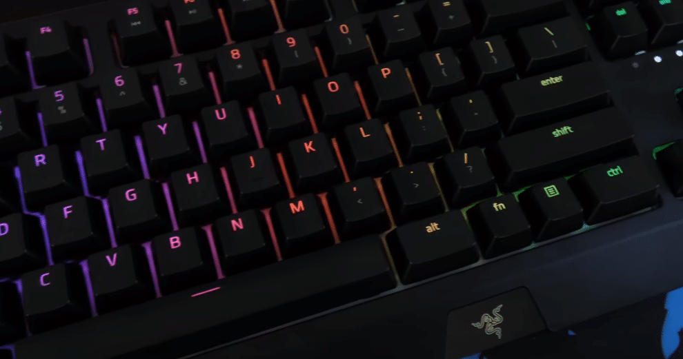 razer blackwidow dead key