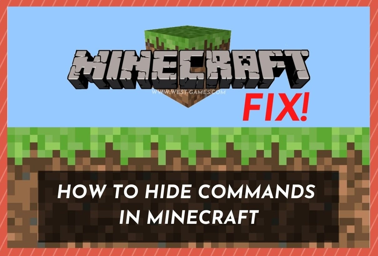How To Hide Commands in_Minecraft