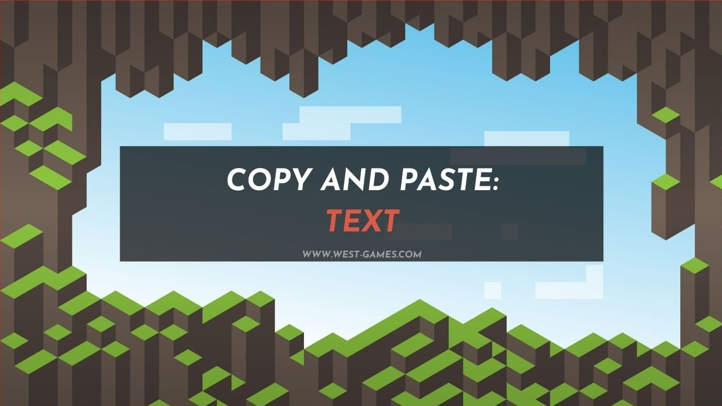 How to Copy and Paste Text in Minecraft