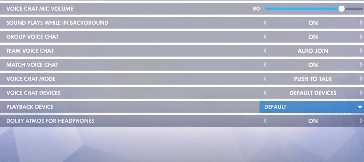 overwatch settings not saving