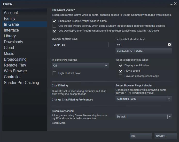 steam error no steam user